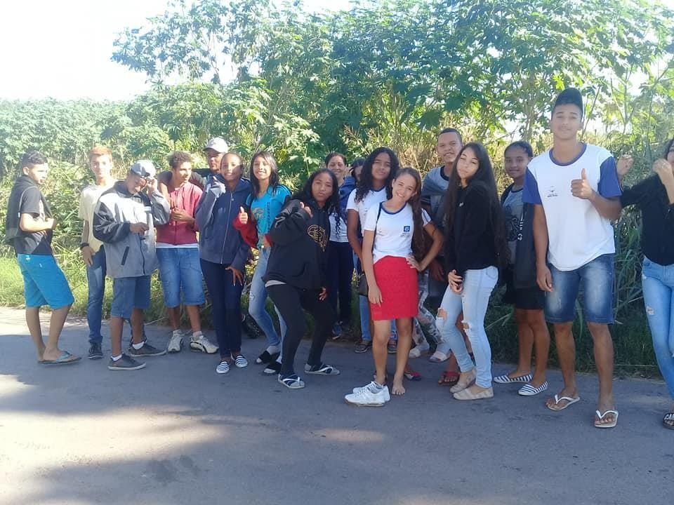 6ª Aula de campo 9° ano ensino fundamental