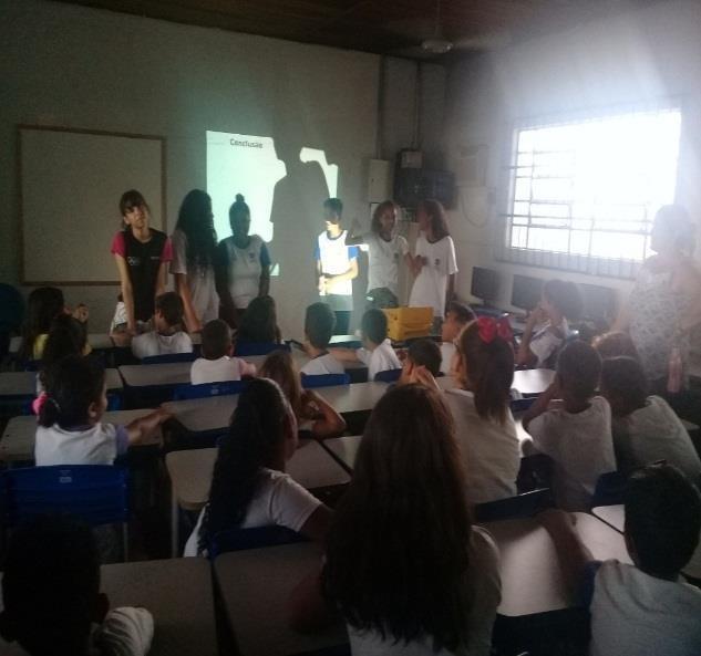 Conferência Infanto Juvenil pelo meio ambiente na escola Ernandy Mauricio Baracat (estudante matutino)