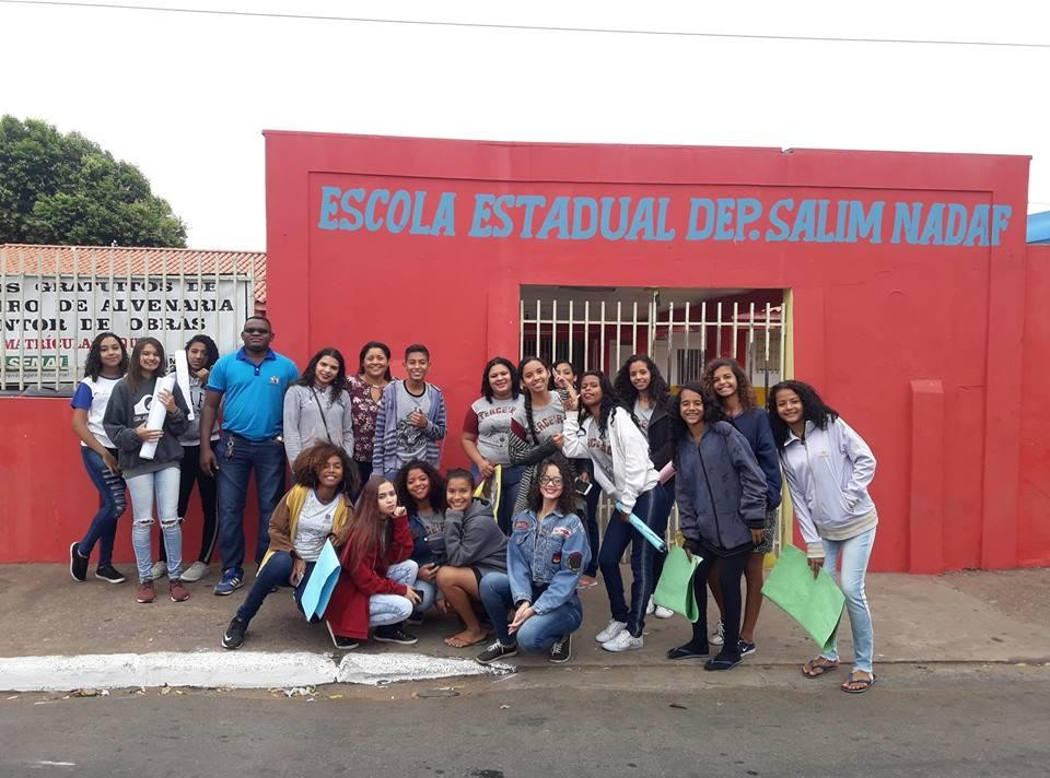 Visita a Escola Estadual Salim Nnadaf