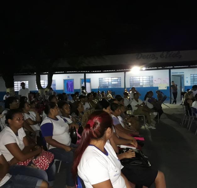 Conferência Infanto Juvenil pelo meio ambiente na escola Ernandy Mauricio Baracat (estudante noturno e pais)